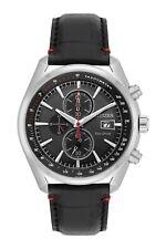 Citizen Eco-Drive Men's Chronograph Black Multi Dial 43mm Watch CA0369-11E
