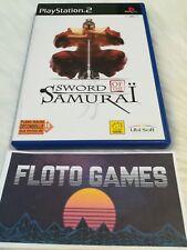 Jeu Sword Of The Samurai pour Sony PS2 PAL Complet CIB - Floto Games