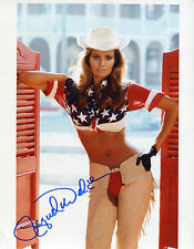 * RAQUEL WELCH * very sexy cowboy chaps signed 8x10 photo