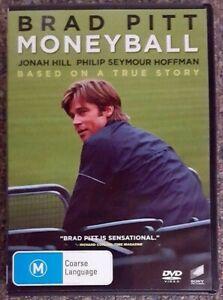 Moneyball (Brad Pitt & Philip Seymour Hoffman) DVD in GREAT condition (Region 4)
