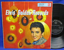 LP ELVIS PRESLEY - GOLDEN RECORDS // GERMAN BLACK RCA-VICTOR LPM-1707