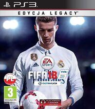 FIFA 18 SONY PS3 PL POLSKI KOMENTARZ NOWA POLSKA WERSJA POLISH EDYCJA LEGACY FUT
