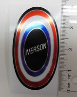 Iverson muscle bike badge decal