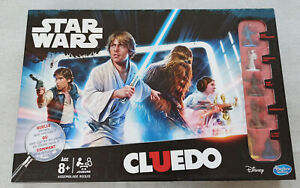 CLUEDO STAR WARS EDITION FRANCAISE ELEMENTS NEUFS!! 100% COMPLET HASBRO 2015