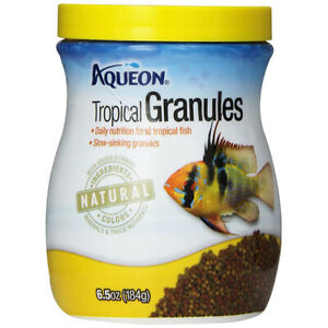 AQUEON - Tropical Granules Fish Food - 6.5 oz. (184 g)