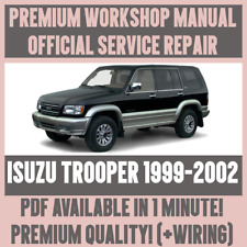 * atelier manual Service & Repair Guide pour Isuzu Trooper 1999-2002 + Câblage