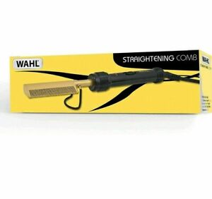 PROFESSIONAL Wahl Hot Comb for Afro Hair Electric Straightening Comb uK POSTAGE