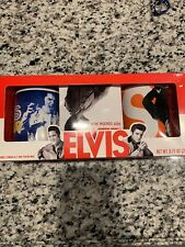 Elvis Presley Mug Gift Set With 2 Mugs & Hot Cocoa Mix