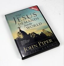 VG - What Jesus Demands from the World by John Piper (2006, MP3 CD, Unabridged)