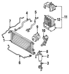 A//C Evaporator For 1989-1993 Toyota Celica 1990 1991 1992 EV 3390PFC