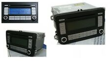 Original Autoradio VW RCD 300 Silver für VW Passat Touran Golf Caddy Jetta EOS
