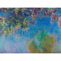 Claude Monet Wisteria Extra Large Art Poster