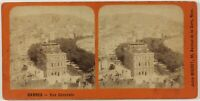 Cannes Vista Generale Francia Foto Stereo Th2n Vintage Albumina c1875
