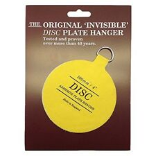 """Invisible Plate Hanger 4""""-for Plates Up To 30cm / 12"""" Diameter - Disc Adhesive"""