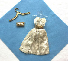 Vintage Barbie #958 Party Date / Dress, Belt And Purse Beautiful - Exc