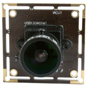 ELP USB Camera Module Low Illumination 1.3MP Webcam w/ 170 Degree Fisheye Lens