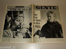 GENTE 1963/10=MARCELLO MASTROIANNI=CARLA FRACCI=REZA CIRO PAHLAVI=LIZ TAYLOR=
