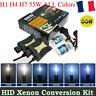 Kit Xénon HID H7 H1 H4 Slim Ballast Feux Phare Auto DC 12V 55W Anti Erreur 6000K