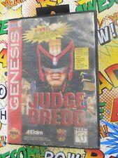 Judge Dredd (Sega Genesis, 1995) Cart and Case