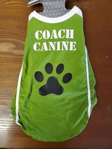 Size Medium Halloween Dog Cat Animal Costume Shirt Coach Canine LAST 1