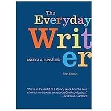 The Everyday Writer by Andrea A. Lunsford (2012, Spiral)