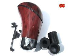 Car gear knob shifter WOOD effect wooden walnut rose HONDA CIVIC TYPE R S JAZZ