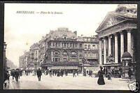 190x BRUXELLES Belgium Place de la Bourse POSTCARD