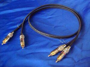van den Hul M.C. D-502 Hybrid      ultimatives Phono-Referenz-Kabel !!!