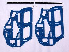 XTREME HELI ALIGN T-REX 700 E BLUE G-10 FRAME SET LIPO 3D FLYBAR FLYBARLESS