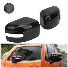CALOTTE SPECCHIO JEEP RENEGADE CARBON LOOK COPPIA retrovisori DX + SX MIRROR CAP