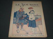 1918 SEPTEMBER 26 LE SOURIRE DE FRANCE MAGAZINE - ST 5189
