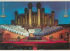 "*Utah Postcard-""Mormom Tabernacle Choir"" -Organ- /Salt Lake, City/ (U2-288)"