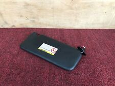 BMW E39 M5 ///M 2000-2003 OEM RIGHT PASSENGER BLACK LEATHER SUN VISOR