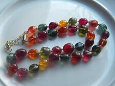 Vintage Natural Tourmaline Necklace