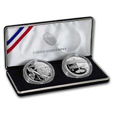 2018 World War I Centennial Silver Dollar Air Service Medal Set COA