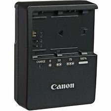 NEW Genuine CANON 80D 60D 6D 7D 5D Mark II LP-E6 Battery Charger LC-E6E LC-E6