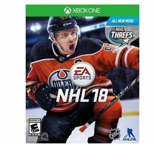 NHL 18: Xbox One [BRAND NEW]