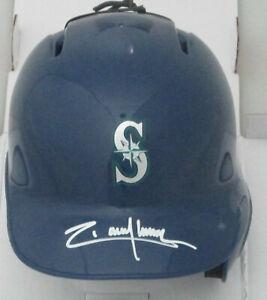 Mariners Hall of Famer RANDY JOHNSON Signed Rawlings Mini Helmet AUTO - JSA