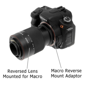Macro Reverse Ring 52mm for SONY AF-52 Camera Lens Adapter