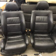 VW Golf Mk3 Black Leather Heated Front Seats