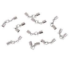 10 x 6,5 mm argent 925 pl Mousqueton fermeture pour bijoux bricolage NEUF