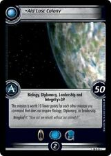 Star Trek CCG 2E What You Leave Behind Aid Lost Colony 14U51