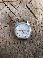 Poljot Полет Vintage Watch USSR Man's 17 Jewels Soviet Rare Wrist Retro Old