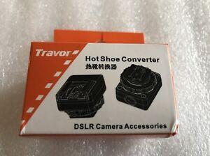 Neewer Hot Shoe Converter for Nikon Camera Flash