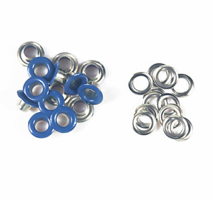 100set Eyelets Buckle Apparel Metallic Rivets Round Eyelets Tool Accessories 5mm