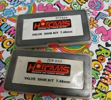 HOT CAMS Valve Shim Kit 7.48mm LOT OF TWO CASES PLEASE READ CRF250