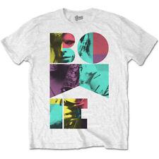 David Bowie Colour Sax Official Tee T-Shirt Mens Unisex