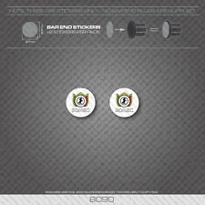 6090 - Somec Bicycle Handlebar Bar End Plug Stickers - Decals