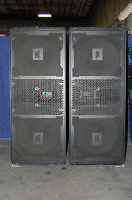 JBL Vertec 4880 Sub Bass Line Array with covers and dolly's 4 - units for sale