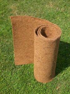 Kokosmatte 2 m x 0,60 m, Winterschutz, Kokosfasermatte, Pflanzkübel